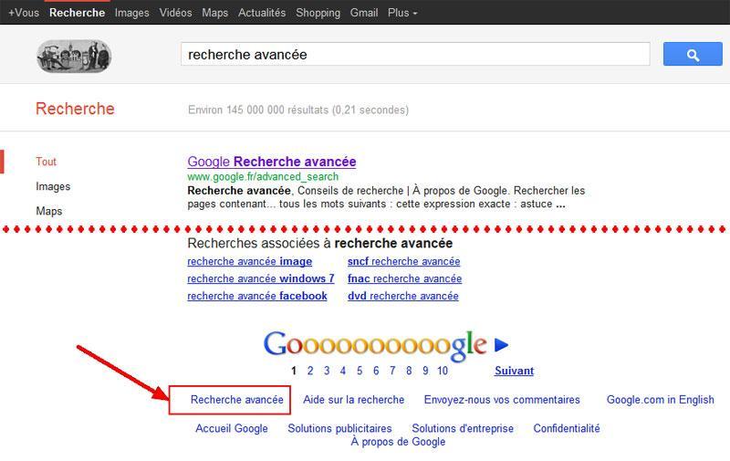 google recherche aide outils astuces internet