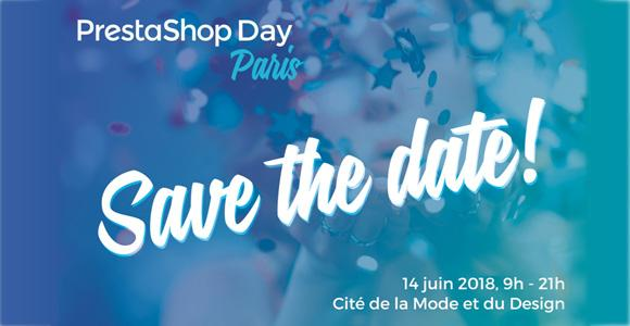 Prestashop Day 2018 à Paris le 14/06/2018