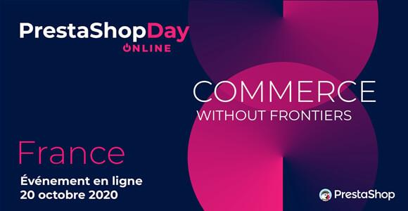 Prestashop Day 2020 online le 20/10/2020