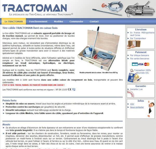 Site e commerce tractoman evreux cr ation site - Site vente bricolage ...