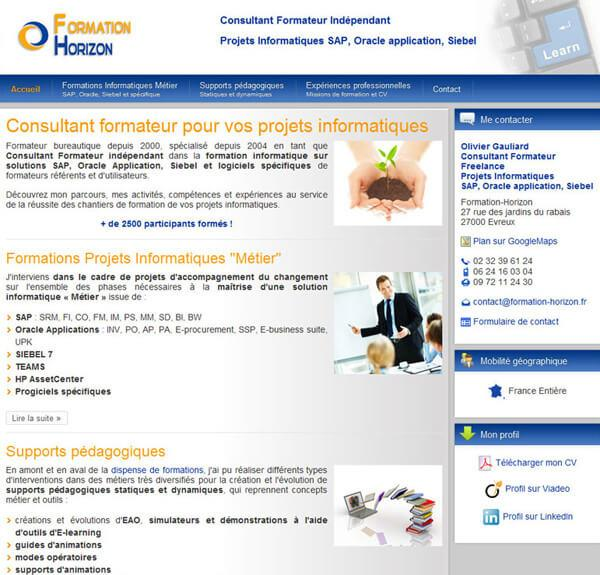 Création site internet Vitrine - Enseignement Formation - Formation ... 4468e221a4be